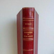 Libros antiguos - ROMPIMIENTO DEL ISTMO DE SUEZ - 57688206