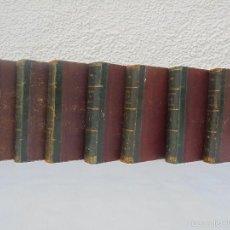Libros antiguos: HISTORIA GENERAL DE ESPAÑA Y DE SUS INDIAS. ANTONIO DEL VILLAR. 1861. 7 TOMOS. VER FOTOGRAFIAS.. Lote 57695882
