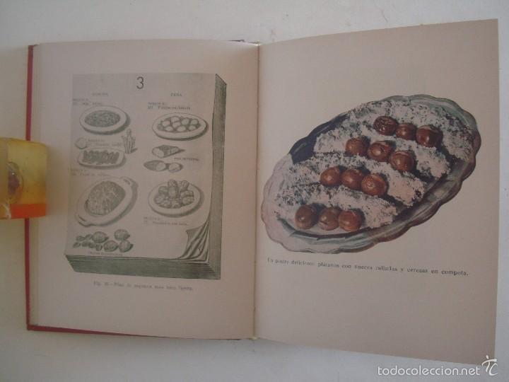 Libros antiguos: VANDER. COCINA VEGETARIANA RACIONAL. ENSEÑANZAS DE ALIMENTACION.1937.400 RECETAS. - Foto 5 - 57700510