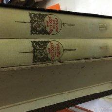 Libros antiguos: DON QUIXOT DE LA MANXA 2 TOMOS. Lote 57703835