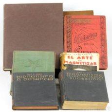 Libros antiguos: 7713 - LOTE DE 6 EJEM. MAGIA É HIPNOTISMO(VER DESCRIP). VV. AA. VARIAS EDIT. 1935/1968.. Lote 57708110