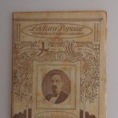 Libros antiguos: BIBLIOTECA D'AUTORS CATALANS. POESIES (LLUIS ROCA Y FLOREJACHS) ILUSTRACIO CATALANA. Lote 57709723