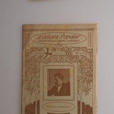 Libros antiguos: BIBLIOTECA D'AUTORS CATALANS. POESIES (FRANCISCO CAMPRODON) ILUSTRACIO CATALANA. Lote 57709904