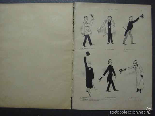 Libros antiguos: TRATADO DE URBANIDAD - ALBUM XAURADO - ORIGINAL - LUIS TASSO -BARCELONA -VER FOTOS - (XL-38) - Foto 5 - 57727577
