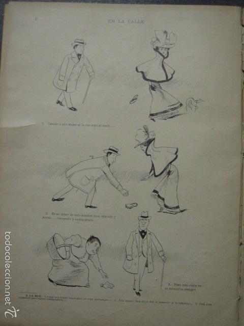 Libros antiguos: TRATADO DE URBANIDAD - ALBUM XAURADO - ORIGINAL - LUIS TASSO -BARCELONA -VER FOTOS - (XL-38) - Foto 6 - 57727577