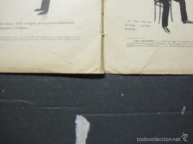 Libros antiguos: TRATADO DE URBANIDAD - ALBUM XAURADO - ORIGINAL - LUIS TASSO -BARCELONA -VER FOTOS - (XL-38) - Foto 19 - 57727577