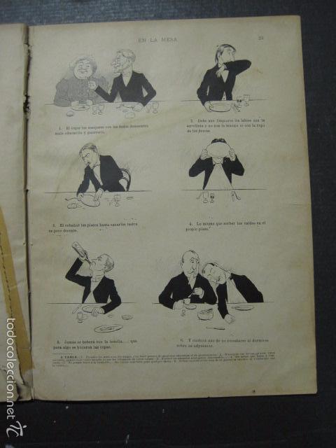 Libros antiguos: TRATADO DE URBANIDAD - ALBUM XAURADO - ORIGINAL - LUIS TASSO -BARCELONA -VER FOTOS - (XL-38) - Foto 23 - 57727577