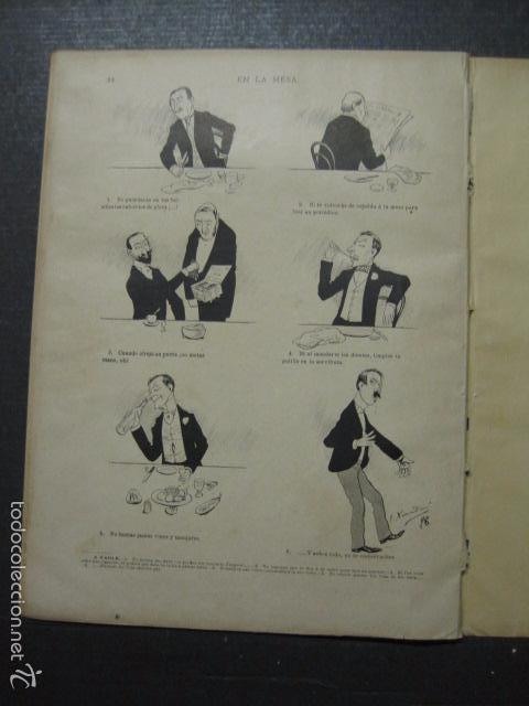 Libros antiguos: TRATADO DE URBANIDAD - ALBUM XAURADO - ORIGINAL - LUIS TASSO -BARCELONA -VER FOTOS - (XL-38) - Foto 24 - 57727577