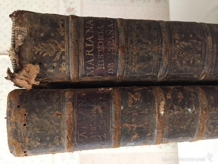 Libros antiguos: HISTORIA GENERAL DE ESPAÑA, POR EL PADRE JUAN DE MARIANA. AÑO 1780. - Foto 2 - 57727587