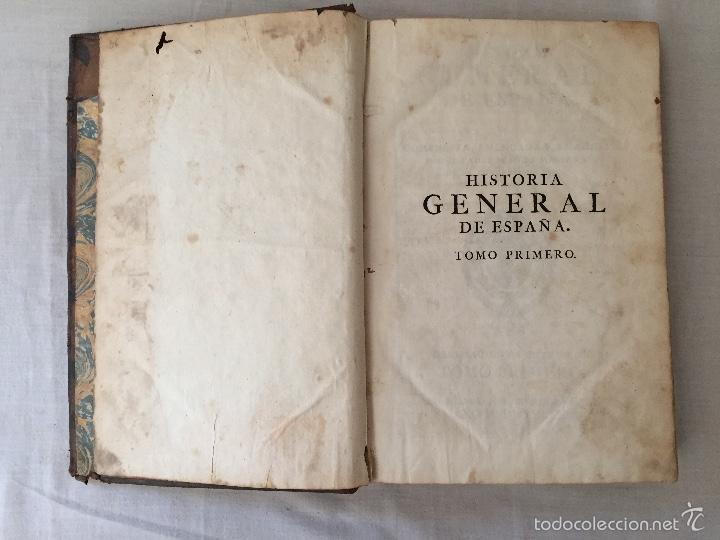 Libros antiguos: HISTORIA GENERAL DE ESPAÑA, POR EL PADRE JUAN DE MARIANA. AÑO 1780. - Foto 10 - 57727587