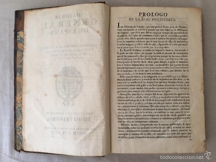 Libros antiguos: HISTORIA GENERAL DE ESPAÑA, POR EL PADRE JUAN DE MARIANA. AÑO 1780. - Foto 14 - 57727587