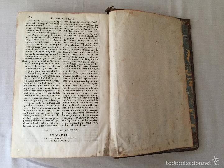 Libros antiguos: HISTORIA GENERAL DE ESPAÑA, POR EL PADRE JUAN DE MARIANA. AÑO 1780. - Foto 17 - 57727587