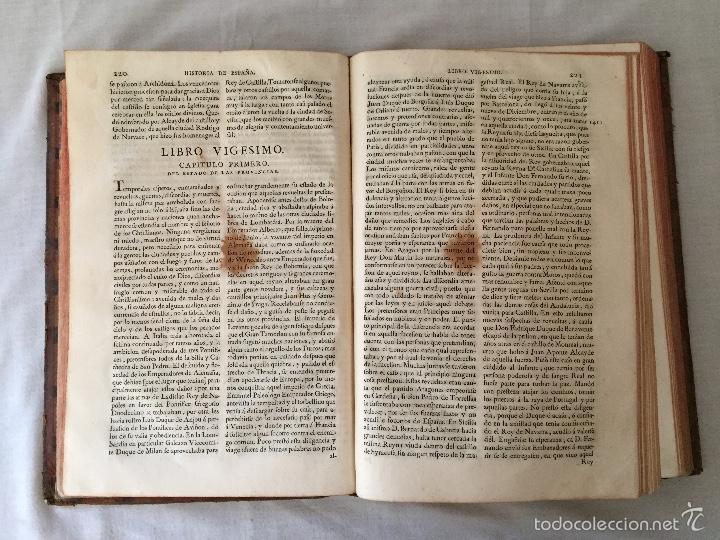 Libros antiguos: HISTORIA GENERAL DE ESPAÑA, POR EL PADRE JUAN DE MARIANA. AÑO 1780. - Foto 35 - 57727587