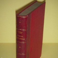 Libros antiguos: 1877 - ESCENAS MONTAÑESAS - JOSE MARIA DE PEREDA - IMPR. J.M.MARTINEZ, SANTANDER . Lote 57728029