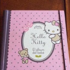 Libros antiguos: LIBRO EL ALBUM DEL BEBE DE HELLO KITTY REGALO PARA RECIEN NACIDOS. Lote 90937703