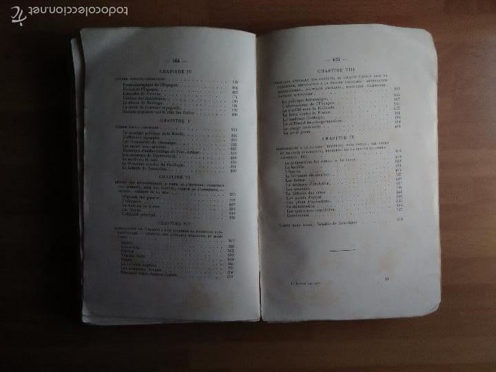 Libros antiguos: LA GUERRE SUR MER. STRATEGIE ET TACTIQUE (GUERRA EN EL MAR. TEXTO EN FRANCÉS. EDICIÓN DE 1907) - Foto 4 - 57859752