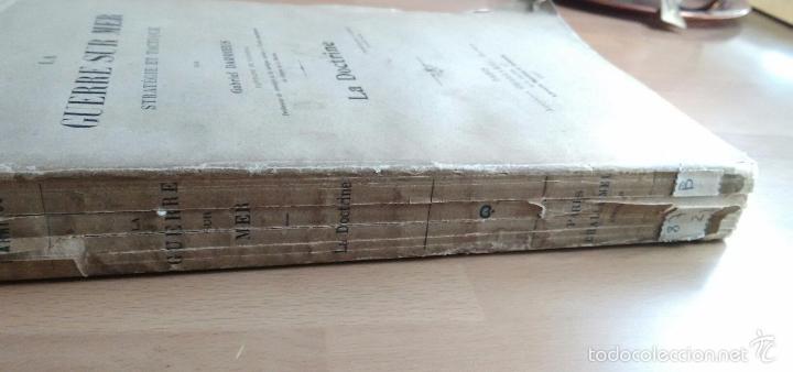 Libros antiguos: LA GUERRE SUR MER. STRATEGIE ET TACTIQUE (GUERRA EN EL MAR. TEXTO EN FRANCÉS. EDICIÓN DE 1907) - Foto 7 - 57859752
