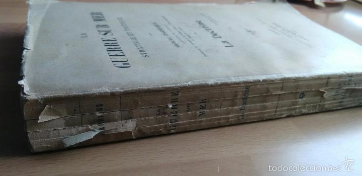 Libros antiguos: LA GUERRE SUR MER. STRATEGIE ET TACTIQUE (GUERRA EN EL MAR. TEXTO EN FRANCÉS. EDICIÓN DE 1907) - Foto 8 - 57859752
