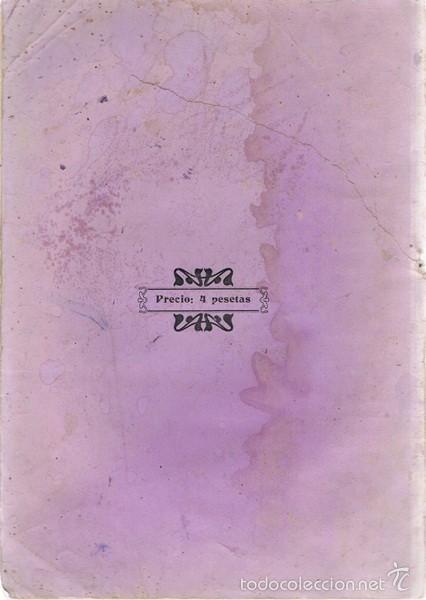 Libros antiguos: SENCILLO MÉTODO DE CORTE ISABEL MARTINEZ CAMPO - Foto 2 - 57867044