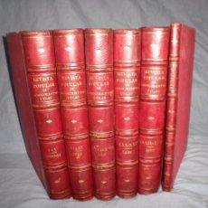 Libros antiguos: REVISTA POPULAR DE CONOCIMIENTOS UTILES - AÑOS 1880-1889 - BELLOS GRABADOS.. Lote 57873499