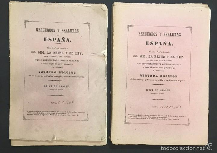RECUERDOS Y BELLEZAS DE ESPAÑA. REINO DE ARAGON. J. M. QUADRADO (Libros Antiguos, Raros y Curiosos - Historia - Otros)