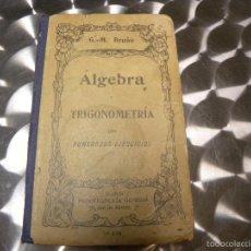 Alte Bücher - ALGEBRA Y TRIGONOMETRIA - 57884556