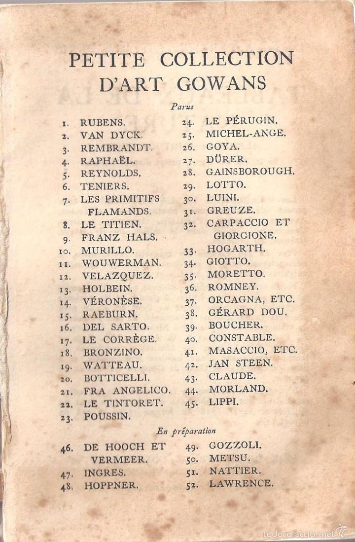 ANTIGUO LIBRO COLECCION DE FOTOS CHEFS-OEUVRE DEL PINTOR MORLAD (1911) (Libros Antiguos, Raros y Curiosos - Bellas artes, ocio y coleccionismo - Otros)