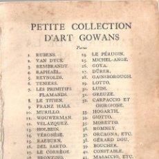 Libros antiguos: ANTIGUO LIBRO COLECCION DE FOTOS CHEFS-OEUVRE DEL PINTOR MORLAD (1911). Lote 57904897