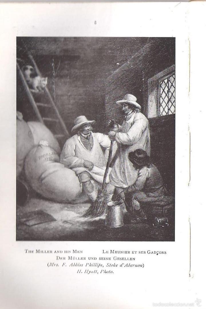 Libros antiguos: ANTIGUO LIBRO COLECCION DE FOTOS CHEFS-OEUVRE DEL PINTOR MORLAD (1911) - Foto 5 - 57904897