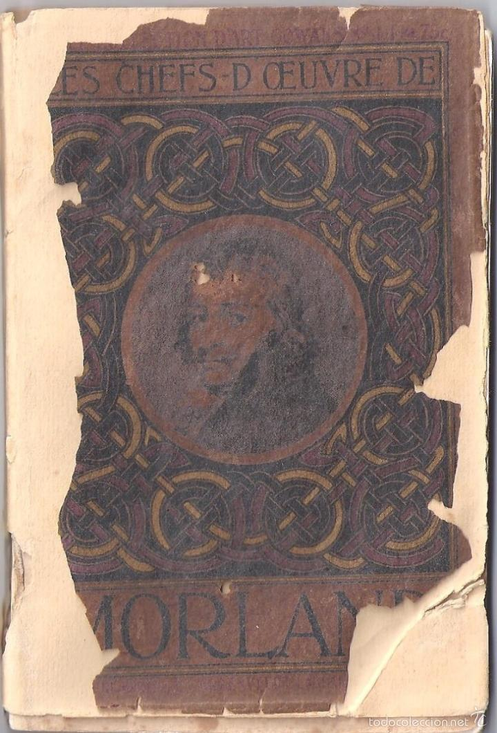 Libros antiguos: ANTIGUO LIBRO COLECCION DE FOTOS CHEFS-OEUVRE DEL PINTOR MORLAD (1911) - Foto 6 - 57904897