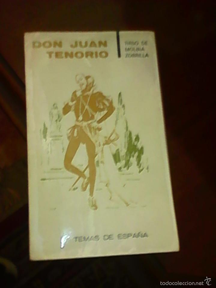 DON JUAN TENORIO LIBRO (Libros Antiguos, Raros y Curiosos - Bellas artes, ocio y coleccionismo - Otros)