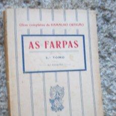 Libros antiguos: AS FARPAS - RAMALHO ORTIGAO - TOMO III, 3ª EDICION, FLUMINENSE, 1926 LISBOA, PORTUGAL + INFO , . Lote 57940076