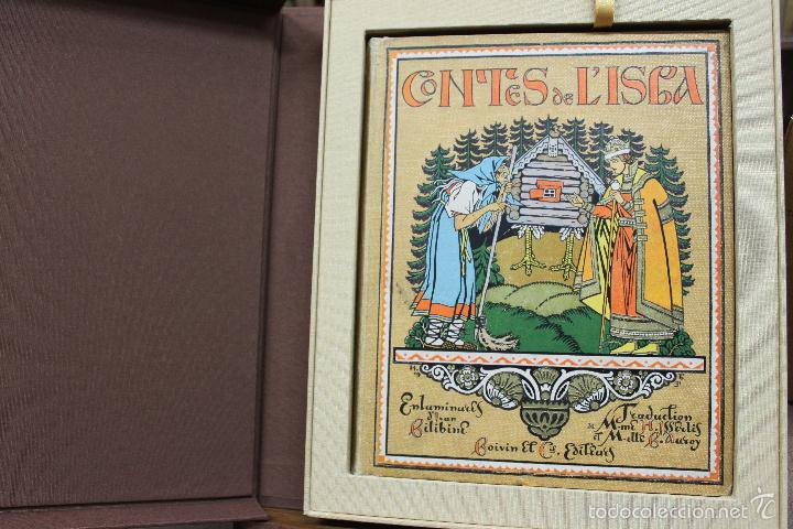 CONTES DE L'ISBA. ILUSTR. IVAN BILIBINE. 1931. PRIMERA EDICIÓN. (Libros antiguos (hasta 1936), raros y curiosos - Literatura - Narrativa - Otros)