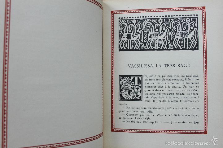 Libros antiguos: CONTES DE L'ISBA. ILUSTR. IVAN BILIBINE. 1931. PRIMERA EDICIÓN. - Foto 3 - 57952918