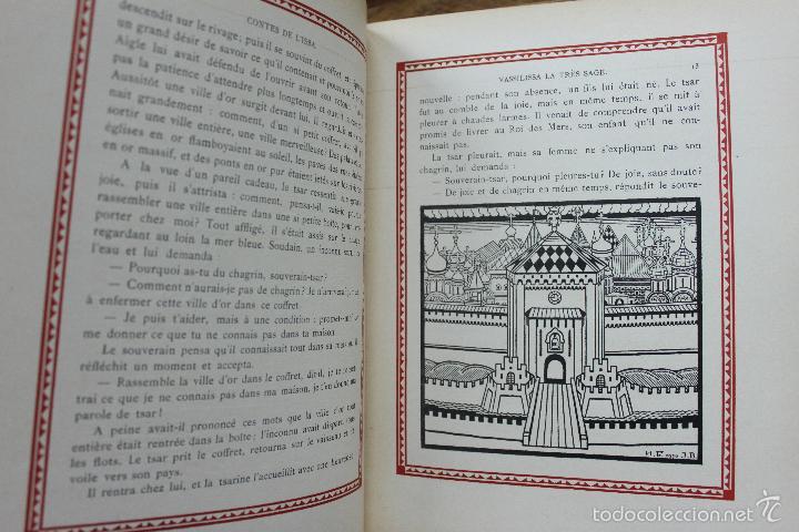Libros antiguos: CONTES DE L'ISBA. ILUSTR. IVAN BILIBINE. 1931. PRIMERA EDICIÓN. - Foto 4 - 57952918