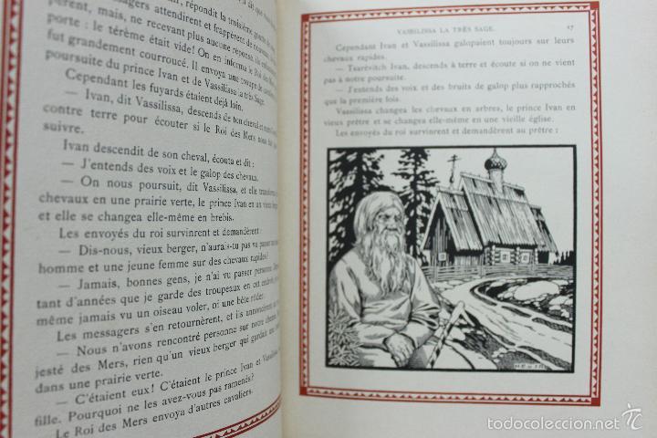 Libros antiguos: CONTES DE L'ISBA. ILUSTR. IVAN BILIBINE. 1931. PRIMERA EDICIÓN. - Foto 5 - 57952918