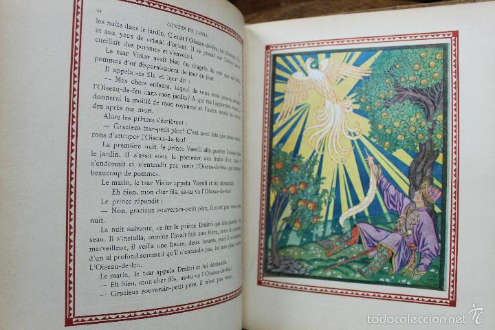 Libros antiguos: CONTES DE L'ISBA. ILUSTR. IVAN BILIBINE. 1931. PRIMERA EDICIÓN. - Foto 7 - 57952918