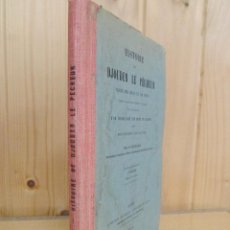 Libros antiguos: HISTOIRE DE DJOUDER LE PECHEUR. TEXTO EN ÁRABE. 1908. Lote 57968372