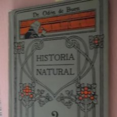 Libros antiguos: HISTORIA NATURAL- MANUALES GALLACH (SOLER)Nº 2 - DR. ODÓN DE BUEN. Lote 57974558