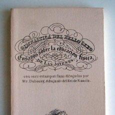 Libros antiguos: GIMNÁSTICA DEL BELLO SEXO. R. ACKERMANN. 1827. Lote 57978470