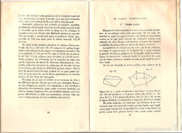 Libros antiguos: CATECISMO DEL AGRICULTOR Y DEL GANADERO Nº 1 - COMO SE MIDE UN CAMPO POR PEDRO M. GONZÁLEZ - Foto 3 - 57988206