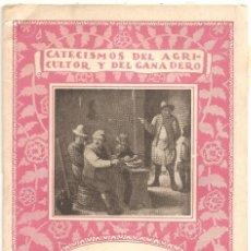 Libros antiguos: CATECISMO DEL AGRICULTOR Y DEL GANADERO Nº 27 - EL CULTIVO DEL TABACO POR RICARDO VÁZQUEZ. Lote 57988810