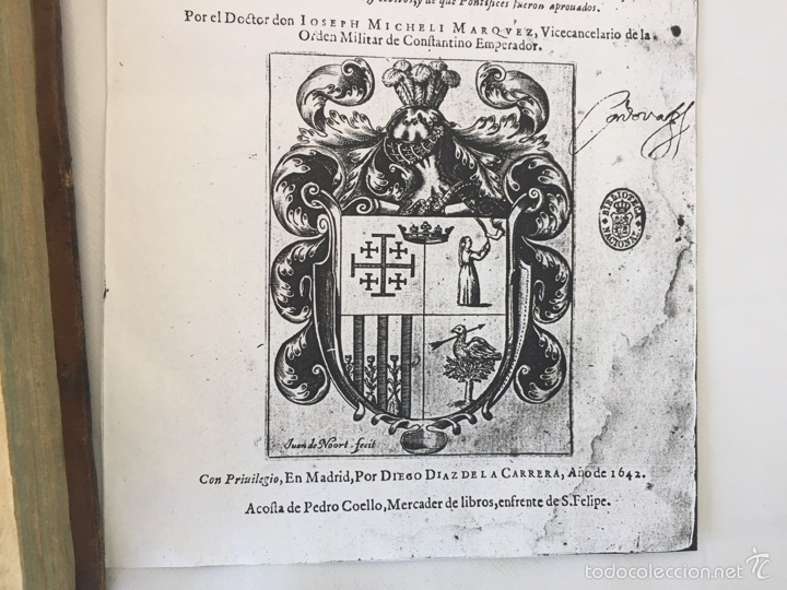 Libros antiguos: TESORO MILITAR DE CAVALLERIA. ANTIGUO Y MODERNO MODO DE ARMAR. DIEGO DIAZ DE LA CARRERA. AÑO 1642. - Foto 43 - 58105590