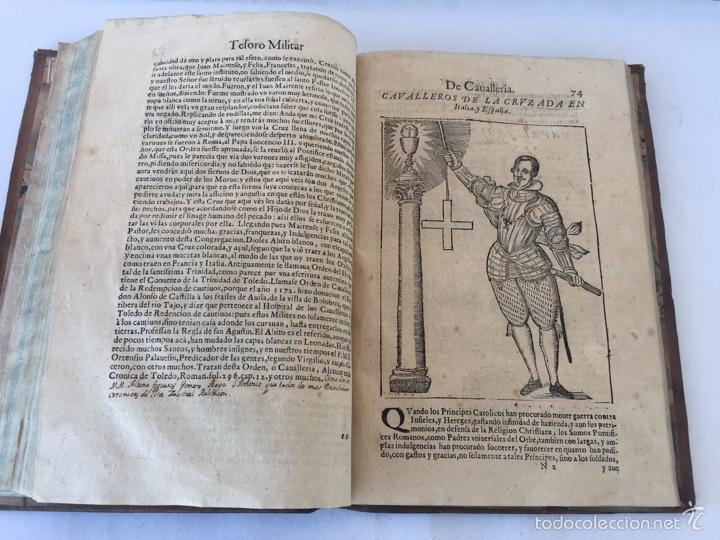Libros antiguos: TESORO MILITAR DE CAVALLERIA. ANTIGUO Y MODERNO MODO DE ARMAR. DIEGO DIAZ DE LA CARRERA. AÑO 1642. - Foto 99 - 58105590