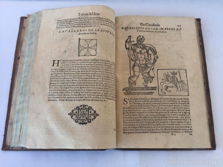 Libros antiguos: TESORO MILITAR DE CAVALLERIA. ANTIGUO Y MODERNO MODO DE ARMAR. DIEGO DIAZ DE LA CARRERA. AÑO 1642. - Foto 100 - 58105590