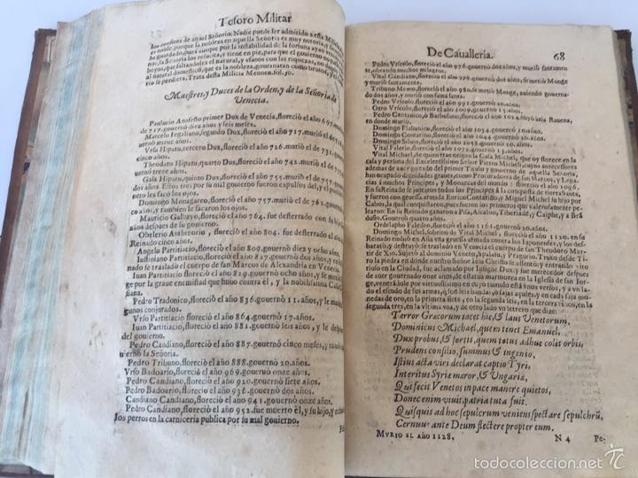 Libros antiguos: TESORO MILITAR DE CAVALLERIA. ANTIGUO Y MODERNO MODO DE ARMAR. DIEGO DIAZ DE LA CARRERA. AÑO 1642. - Foto 101 - 58105590