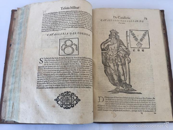 Libros antiguos: TESORO MILITAR DE CAVALLERIA. ANTIGUO Y MODERNO MODO DE ARMAR. DIEGO DIAZ DE LA CARRERA. AÑO 1642. - Foto 102 - 58105590