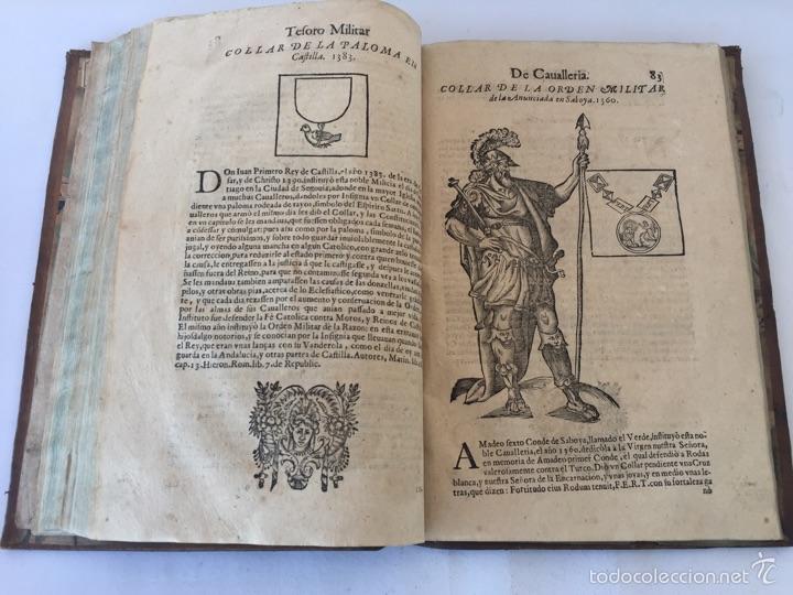 Libros antiguos: TESORO MILITAR DE CAVALLERIA. ANTIGUO Y MODERNO MODO DE ARMAR. DIEGO DIAZ DE LA CARRERA. AÑO 1642. - Foto 103 - 58105590