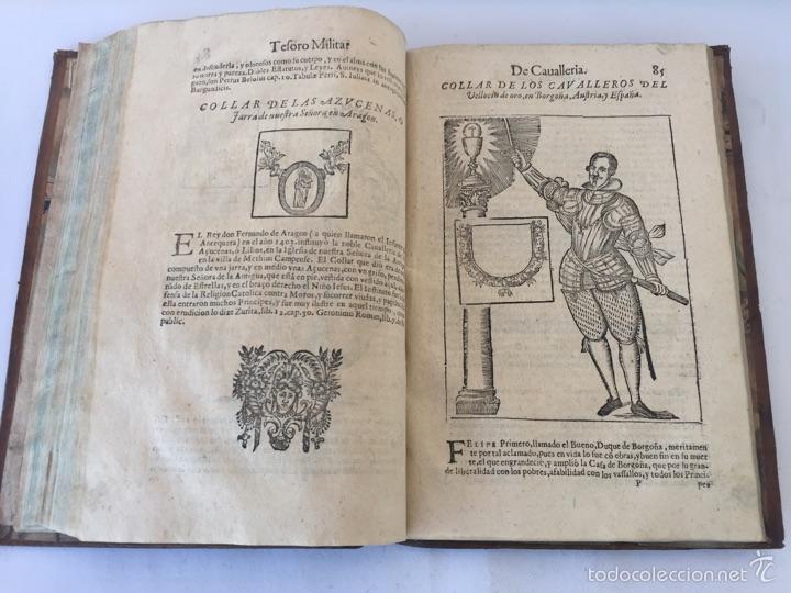 Libros antiguos: TESORO MILITAR DE CAVALLERIA. ANTIGUO Y MODERNO MODO DE ARMAR. DIEGO DIAZ DE LA CARRERA. AÑO 1642. - Foto 104 - 58105590