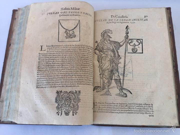 Libros antiguos: TESORO MILITAR DE CAVALLERIA. ANTIGUO Y MODERNO MODO DE ARMAR. DIEGO DIAZ DE LA CARRERA. AÑO 1642. - Foto 105 - 58105590